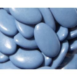 Dragées chocolat bleu galaxie