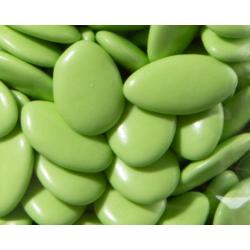 Dragées chocolat vert bambou