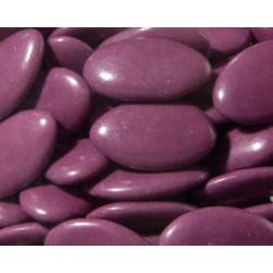 Dragées chocolat violette
